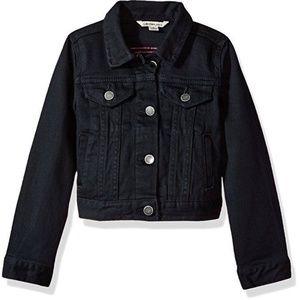 Denim Jean Jacket Girl Stretch 4 5 Calvin Klein